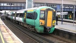 Trains at Clapham Junction 27 06 2011