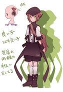 Haruya character design