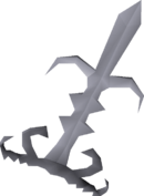 Godsword blade detail