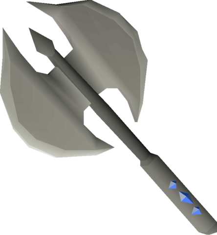 File:Dwarven battleaxe (repaired) detail.png