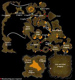 Brimhaven dungeon map