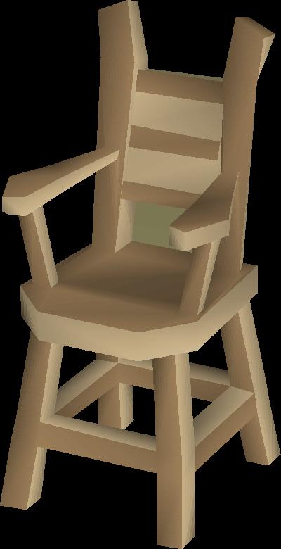 Oak chair built