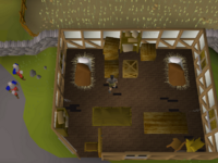 Cryptic clue - search crates guard house east ardougne