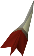 Dragon dart detail