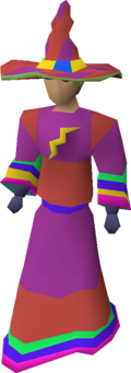 Infinity robe set equipped