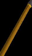 Gilded spear detail