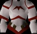 Zamorak robe top detail