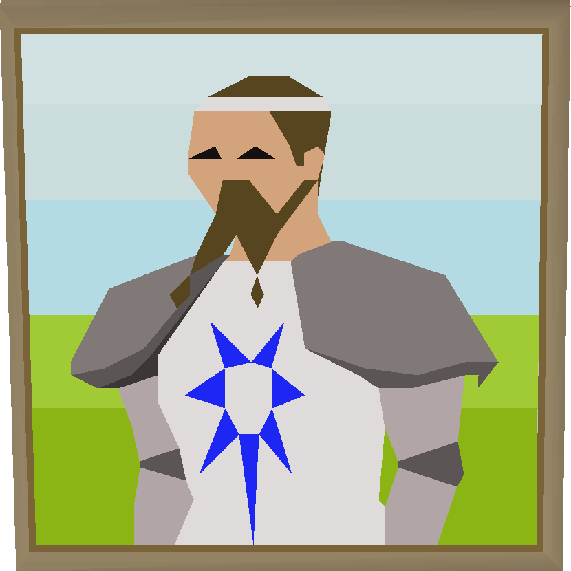 King arthur portrait built