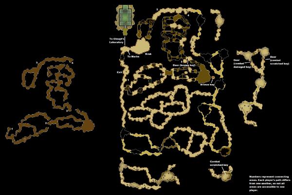 Kruk's Dungeon map