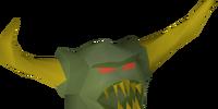 Jungle demon mask