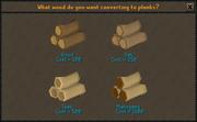 Sawmill interface