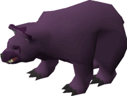 Reanimated bear