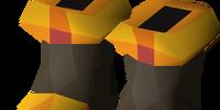 Pyromancer boots