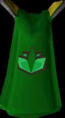 Herblore cape detail