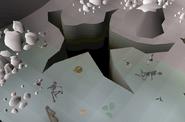 Fishing Hamlet crevasse