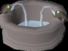 Posh fountain built