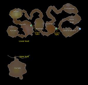 Fremennik Slayer Dungeon map
