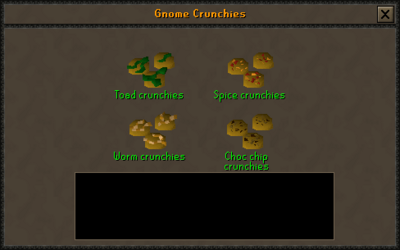 Gnome crunchy preparing interface