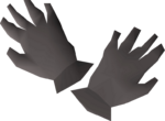 Iron gloves detail