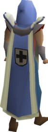 Defence cape (t) equipped