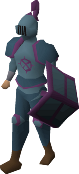 Ancient armour set (lg) equipped