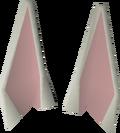 Bunny ears detail