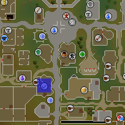 Varrock Swordshop location