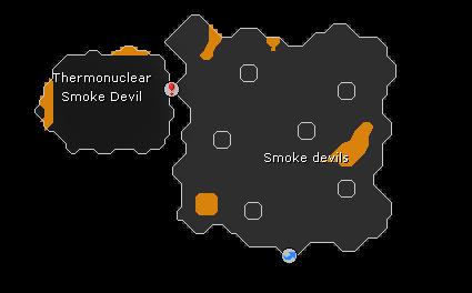 Smoke Devil Dungeon map