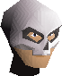 Skeleton mask chathead