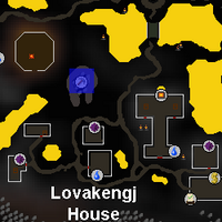 Hot cold clue - Lovakengj mine map
