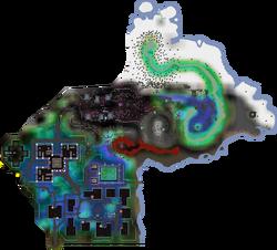 Arceuus House map