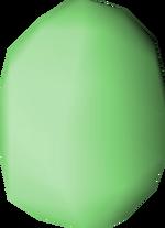 Bird's egg (green) detail