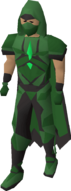 Graceful outfit (Hosidius) equipped