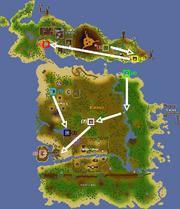 Tai Bwo Wannai Trio Quest Map