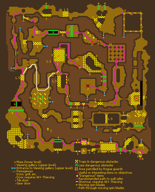 Rogues' Den minigame map