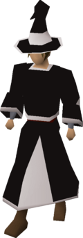Black wizard robes (t) equipped