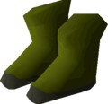 Angler boots detail