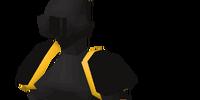 Black plateskirt (g)