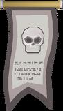 Skeleton Champion's banner