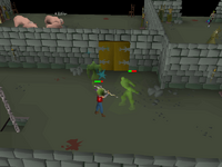Cryptic clue - kill aberrant spectre