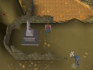 Hot cold clue - Grave of Scorpius