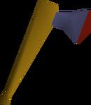 Mithril axe detail