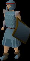 Rune chainbody equipped