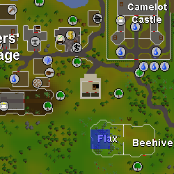 Flax keeper location