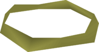 Gold headband detail