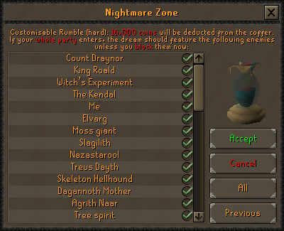 Custom Nightmare Zone Rumbles (2)