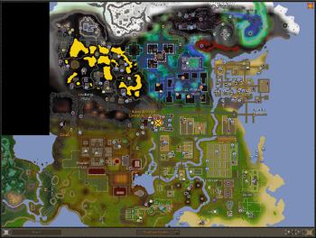 World map interface