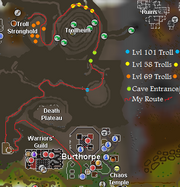 Troll Stronghold Route