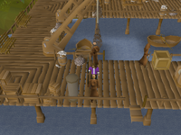 Cryptic clue - entrana monks port sarim