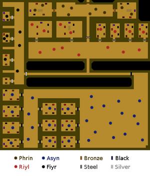 Shade Catacombs map